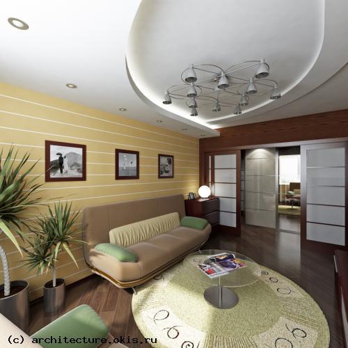 Интерьера квартир и загородных домов
